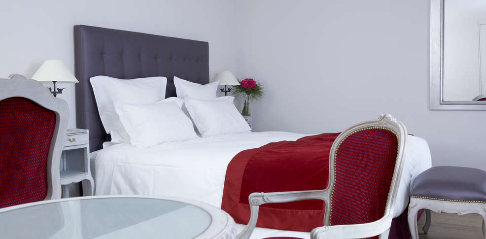 Hotel cour du corbeau charmehotel straatsburg - Chambre thema parijs ...