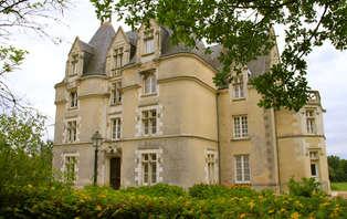 Offre spéciale : Week-end avec dîner dans un château près de Poitiers (2 nuits min.)
