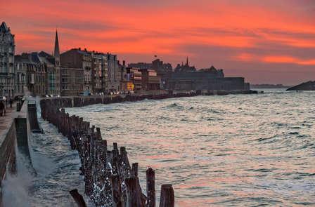 Week-end les pieds dans l'eau à Saint-Malo, accès spa inclus et cadeau breton offert ! (2 nuits min)