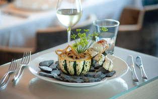 Week-end détente avec dîner 4 plats et accès spa à Saint-Malo