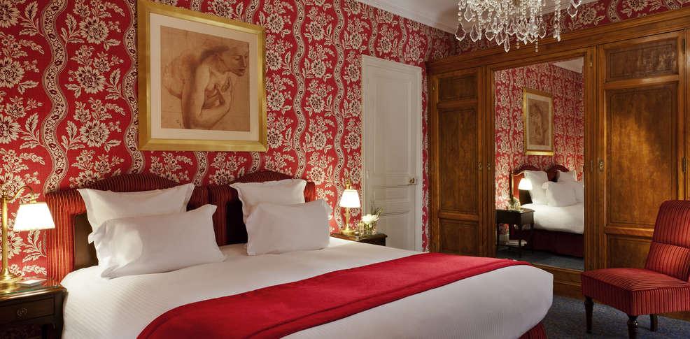 Chambre Classique Normandy Barriere : Hôtel normandy barrière de charme deauville