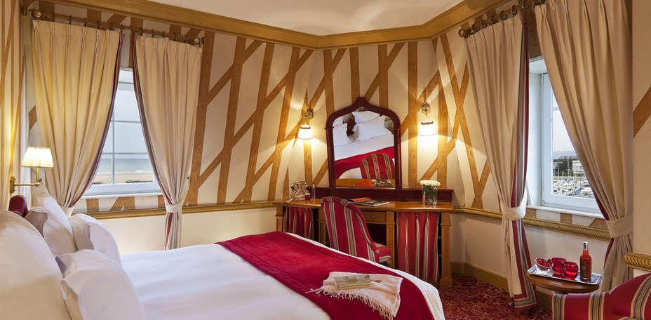 Htel Normandy Barrire - Chambre suprieure avec vue mer