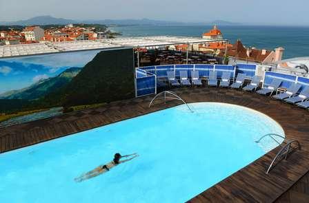 Week-end bien-être avec modelage relaxant, en bord de mer, à Biarritz