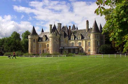 Dîner dans un château de la Vallée de la Loire