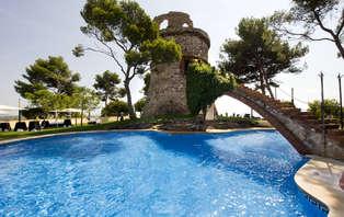 Escapada con cena y acceso a la zona relax en Castelldefels
