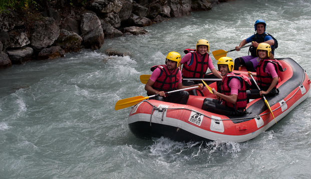 Week-end avec travers�e en Rafting � Pra Loup