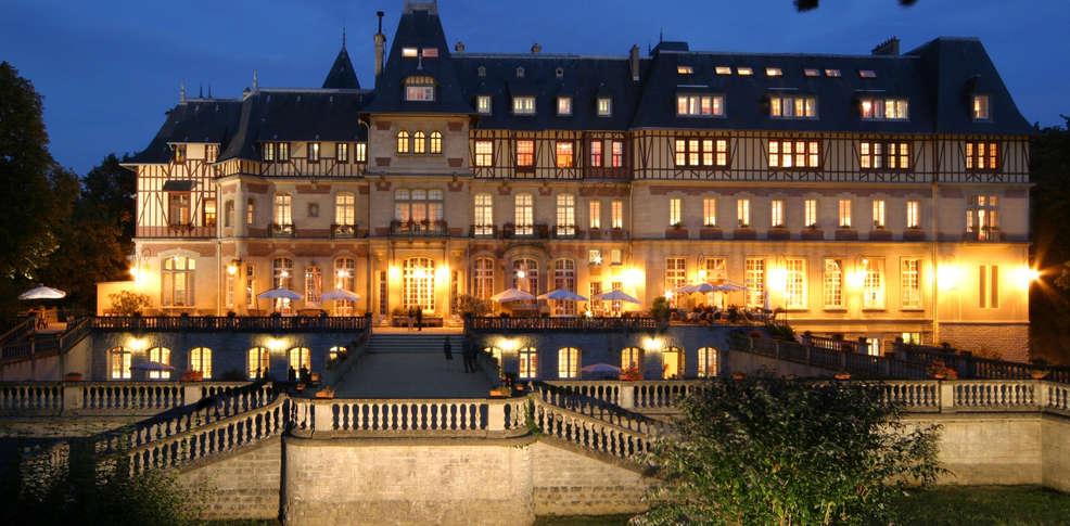 H tel ch teau de montvillargenne h tel de charme for Hotel de charme paca