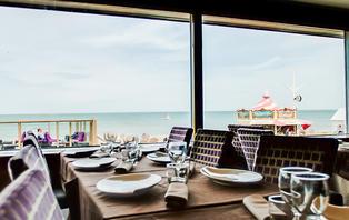 Offre spéciale: Week-end détente avec diner face à la mer sur la côte normande
