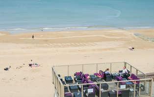Week-end détente en chambre vue sur mer sur la côte normande