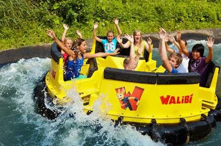 Weekend weg naar Walibi