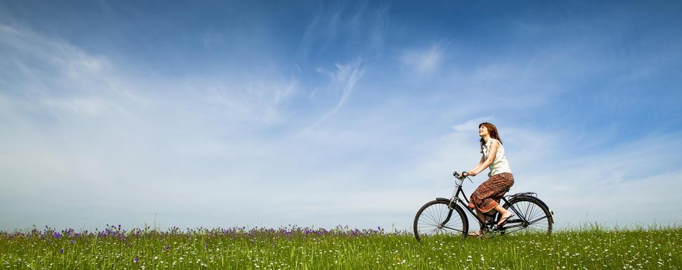 Met de fiets op weekend