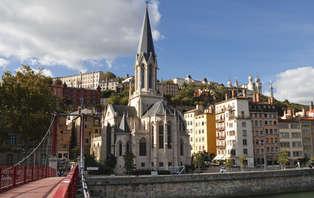 Week-end aux portes de Lyon