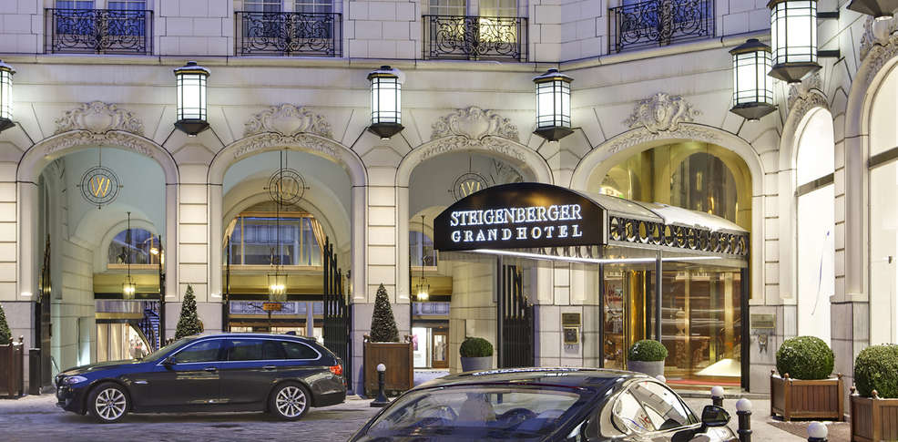Steigenberger grandhotel brussels h tel de charme bruxelles for Hotel a bruxelles