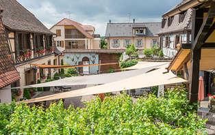 Week-end détente avec dîner au cœur des vignes et à 20 minutes de Strasbourg