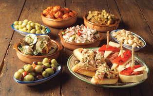 Escapada con Cena degustación de Tapas en el centro de Granada