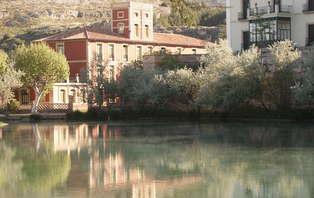 Escapada con cena y acceso al lago termal en Alhama de Aragón