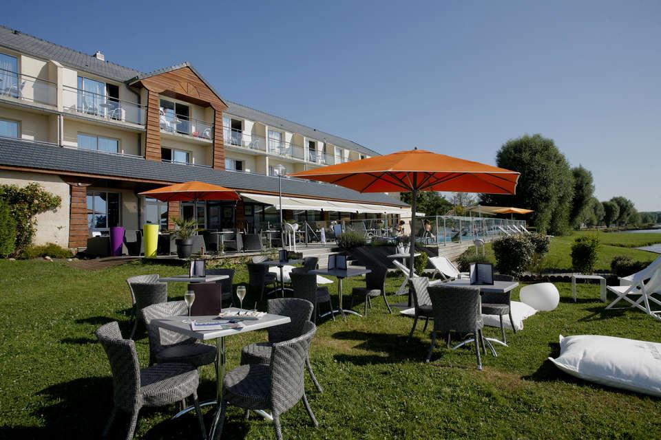 QUALYS-HOTEL Golf de l'Ailette - Jardins, parc