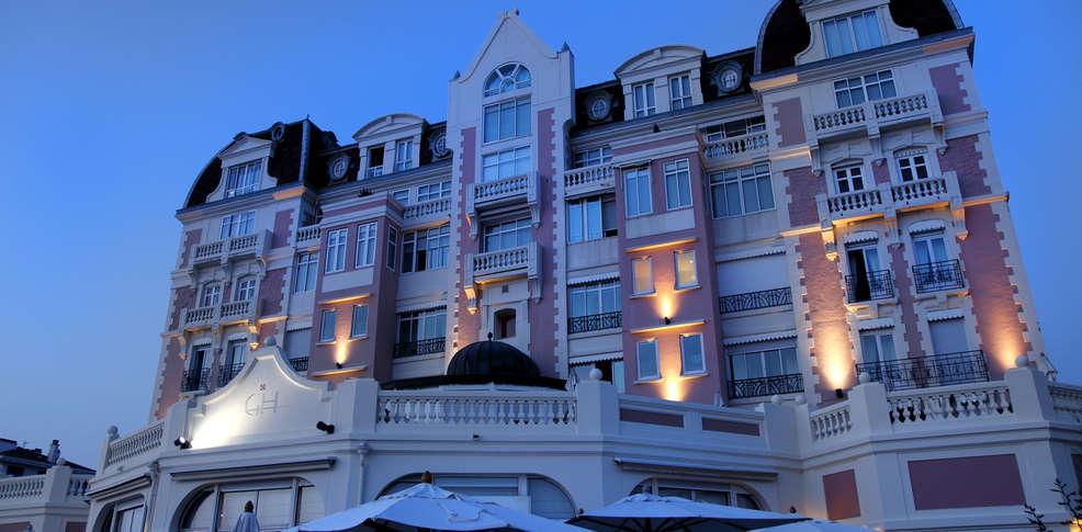 grand h tel thalasso et spa hotel san juan de luz. Black Bedroom Furniture Sets. Home Design Ideas