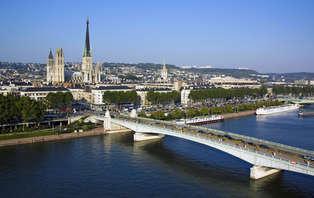 Uitstapje midden in Rouen