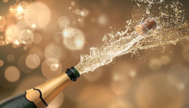 Despídete del año con cena gala y fiesta en Espluga de Francolí (2 noches) en Weekendesk por 310.00€