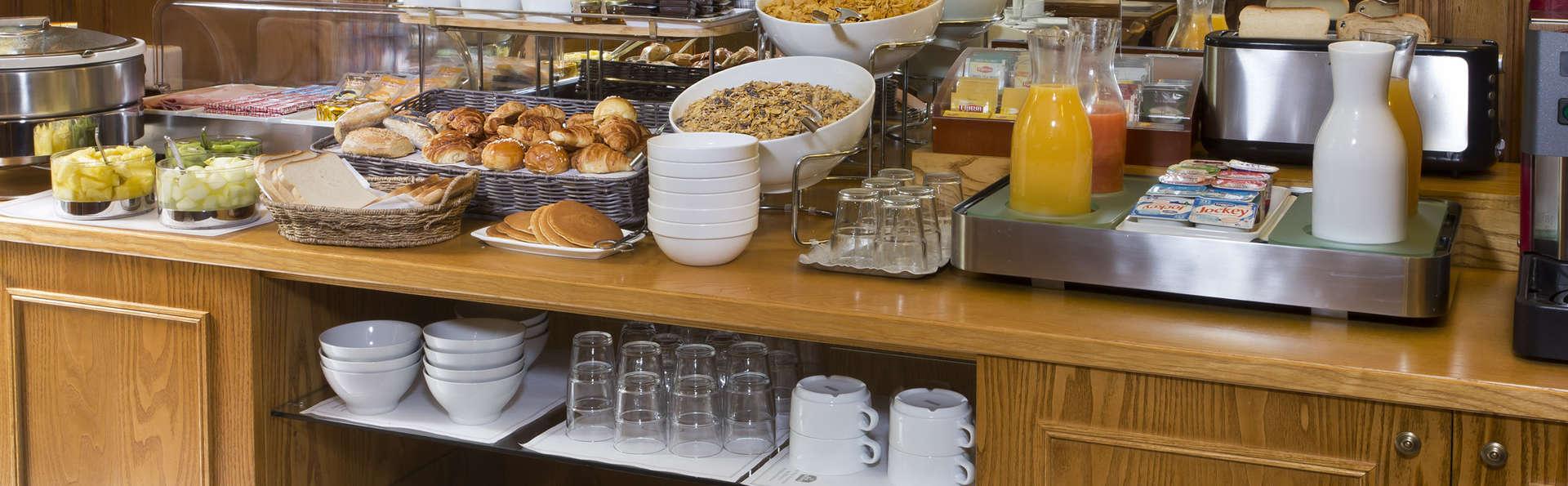 Best Western Hôtel Montcalm - Salle de petit déjeuner