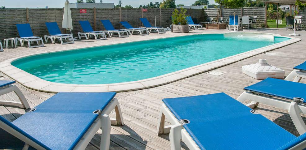 Hotel piscine interieure normandie h tel r sidence les - Hotel etretat piscine interieure ...