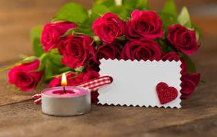 Offre de Saint-Valentin avec dîner 6 plats, champagne et fraises au chocolat à Bruxelles