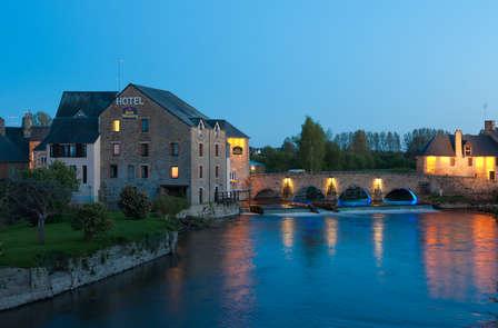 Week-end en chambre confort vue rivière avec jeu de piste au Mont-Saint-Michel