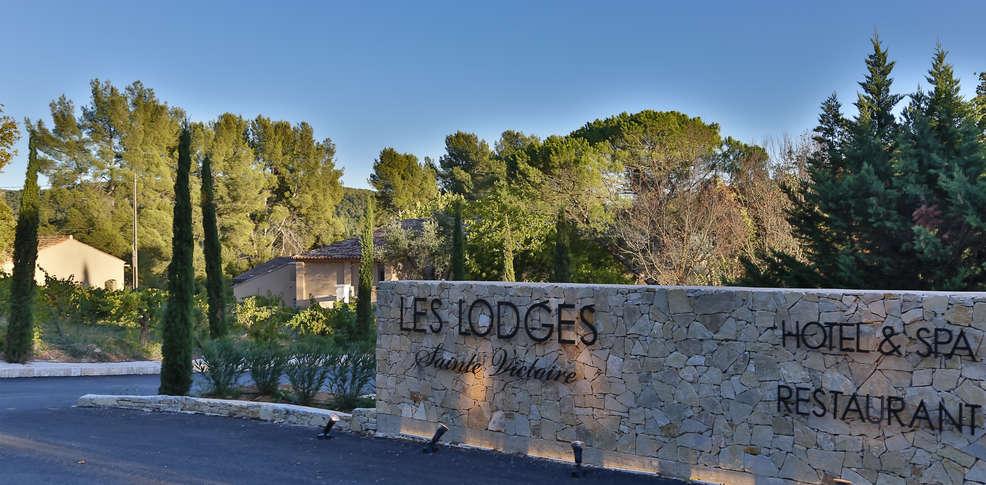 H tel les lodges sainte victoire h tel de charme aix en - Hotel de charme aix en provence ...