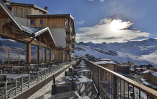 Week-end ski avec forfait et accès spa à Val Thorens