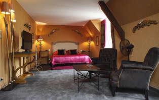Week-end détente en amoureux en chambre deluxe près de Reims