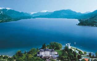 Week-end demi-pension au bord du lac d'Annecy
