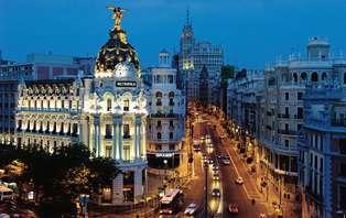 Escapada con tapa y caña en terraza en Madrid (desde 2 noches)