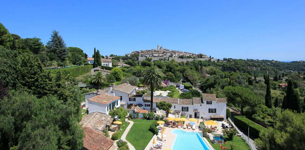 H tel le hameau h tel de charme saint paul de vence - Petit jardin hotel san juan saint paul ...