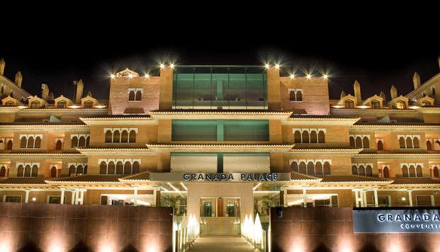 Escapada en Junior Suite: Vive Granada con cena, spa e Hidromasaje en Weekendesk por 99.00€