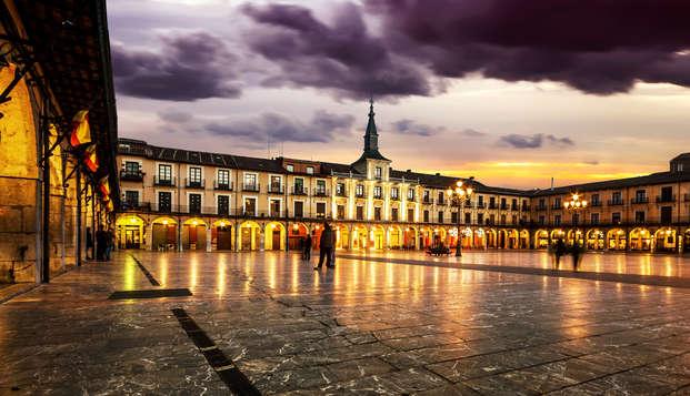 Escapada romántica: Vive León con tu Pareja en Weekendesk por 46.00€