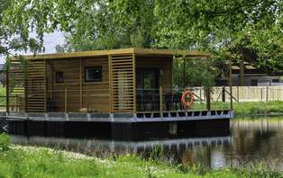 Week-end sur une cabane flottante près du Tréport