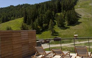 Offre Spéciale été : 2 nuits à la montagne dans un hôtel de charme avec accès spa à Pra Loup