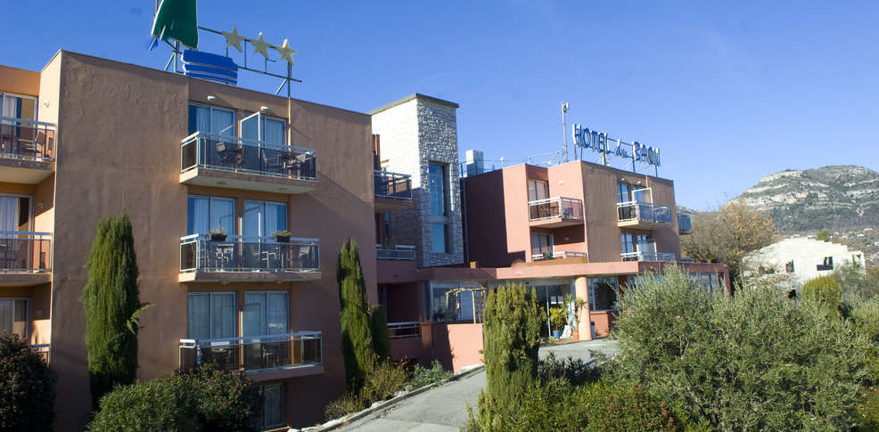 H tel du baou h tel de charme la gaude for Hotel de charme paca