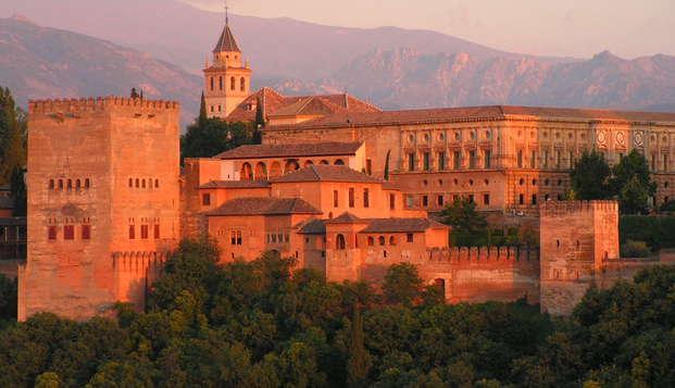 Especial Ciudades Monumentales: Granada Romántica (desde 2 noches) en Weekendesk por 59.50€