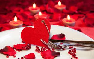 Offre spéciale Saint-Valentin: Escapade romantique avec dîner dans un château près de Nevers