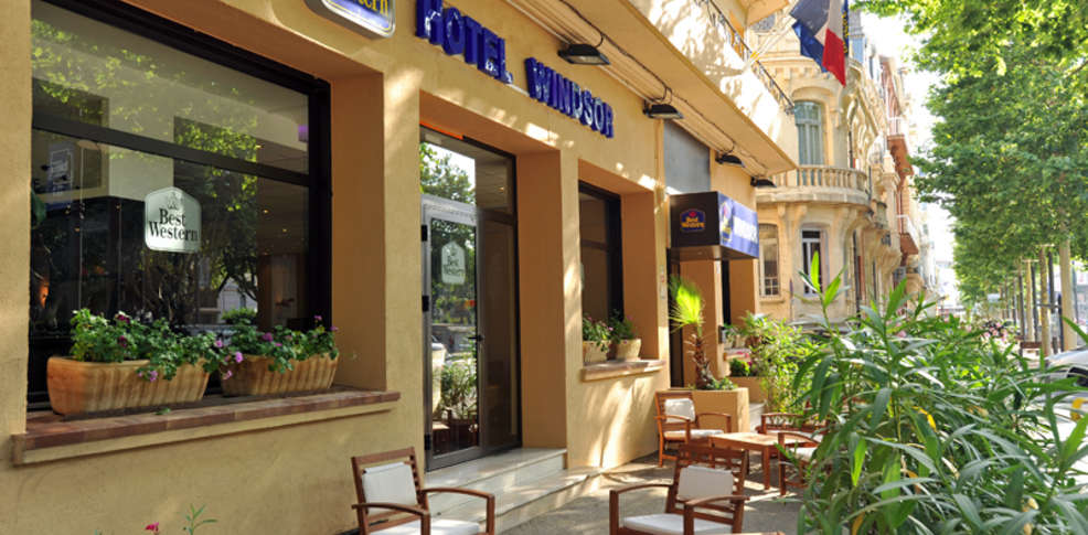 Best western hotel windsor h tel de charme perpignan - Hotel avec jacuzzi dans la chambre pyrenees orientales ...