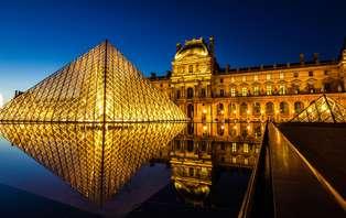 Week-end découverte avec entrée pour le Musée du Louvre