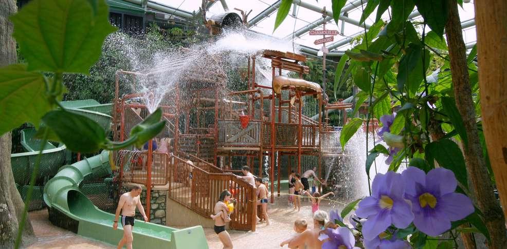 H tel center parcs domaine de l 39 ailette h tel de charme for Piscine center parc sologne