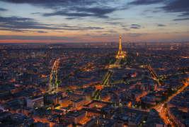 Hôtel le Dauphin  - Vue depuis la Tour Montparnasse