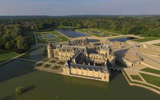 Week-end détente et découverte avec entrée au Domaine de Chantilly