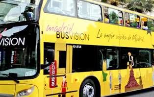 Escapada con ruta en bus turístico en Madrid