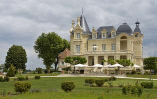 Week-end dans un château**** à Saint-Emilion, avec visite & dégustation de vins au château Gaby