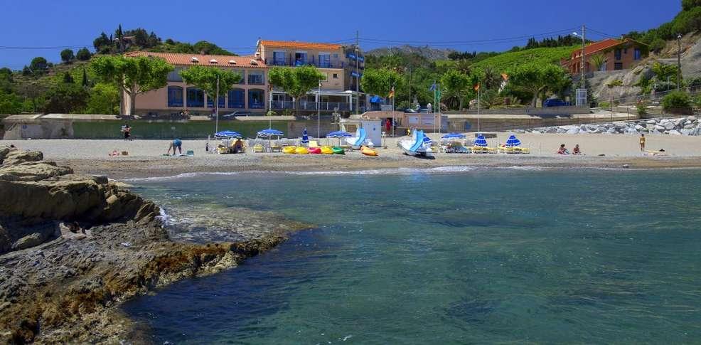 H tel des elmes h tel de charme banyuls sur mer for Reservation hotel pas chere