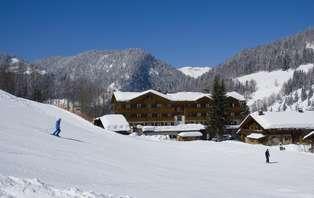 Week-end détente au ski en famille  à La Clusaz